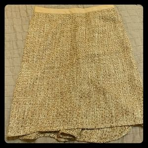 Sparkle and Wool Skirt-- the best of both worlds